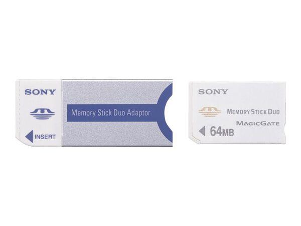 Sony Memory Stick Duo Adaptor MSAC-M2 - card adapter - Memory StickSony Memory Stick Duo Adaptor MSAC-M2 - card adapter - Memory Stick, , hi-res