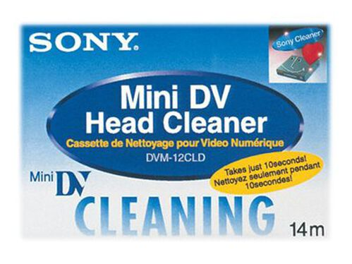 Sony DVM-12CLD cleaning Mini DV tape, , hi-res