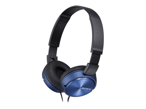 Sony MDR-ZX310AP - headphones with mic, Blue, hi-res
