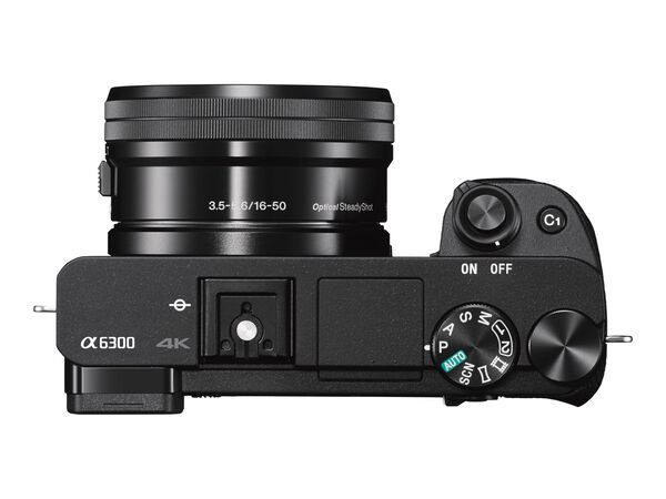 Sony α6300 ILCE-6300M - digital camera E 18-135mm OSS lensSony α6300 ILCE-6300M - digital camera E 18-135mm OSS lens, Black, hi-res