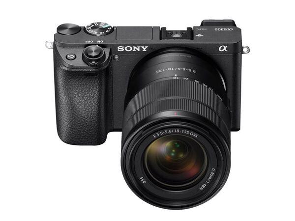 Sony α6300 ILCE-6300M - digital camera E 18-135mm OSS lensSony α6300 ILCE-6300M - digital camera E 18-135mm OSS lens, Black, hi-res