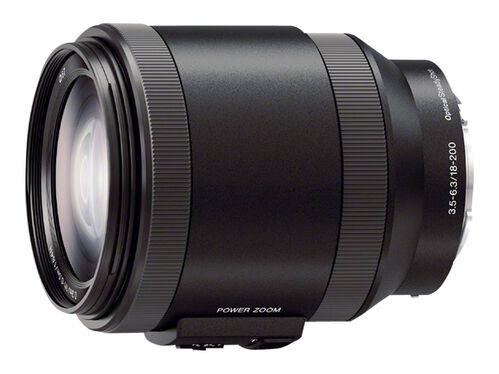 Sony SELP18200 - zoom lens - 18 mm - 200 mm, , hi-res