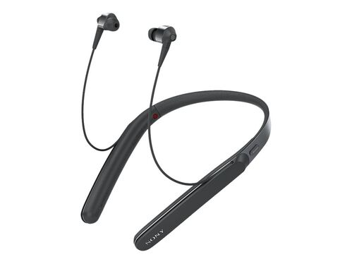 Sony WI-1000X - earphones with mic, Black, hi-res