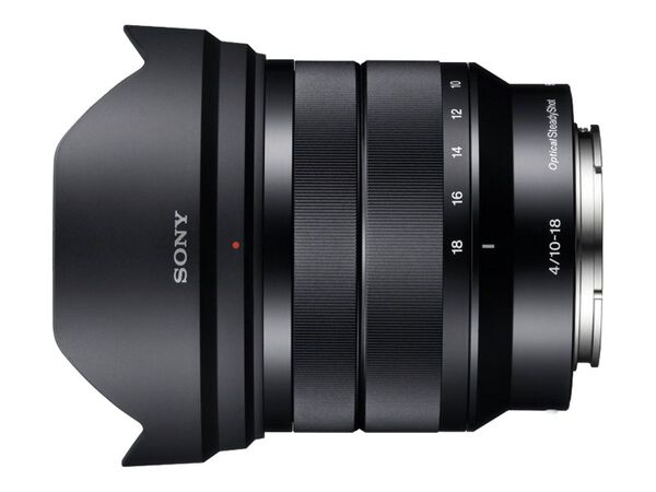 Sony SEL1018 - wide-angle zoom lens - 10 mm - 18 mmSony SEL1018 - wide-angle zoom lens - 10 mm - 18 mm, , hi-res