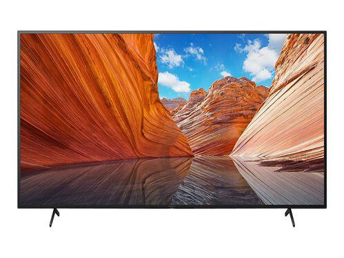 "Sony KD-43X80J BRAVIA X80J Series - 43"" Class (42.5"" viewable) LED-backlit LCD TV - 4K, , hi-res"