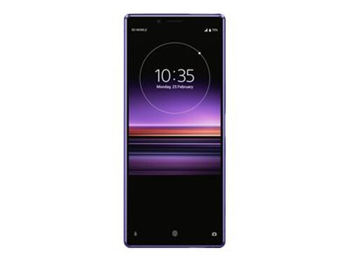 Sony XPERIA 1 - purple - 4G - 128 GB - GSM - smartphone, , hi-res