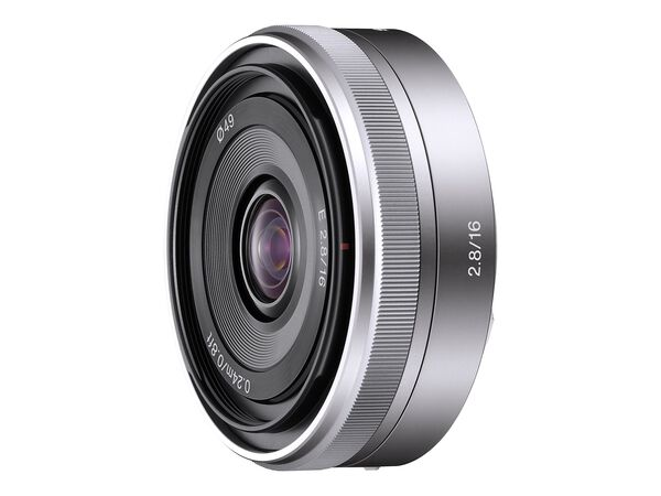 Sony SEL16F28 - wide-angle lens - 16 mmSony SEL16F28 - wide-angle lens - 16 mm, , hi-res