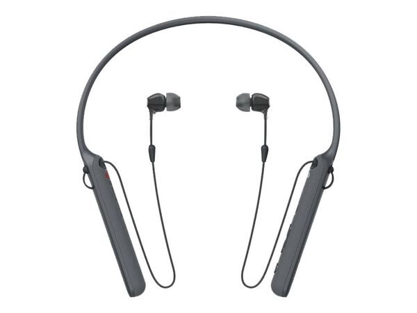 Sony WI-C400 - earphones with micSony WI-C400 - earphones with mic, Black, hi-res