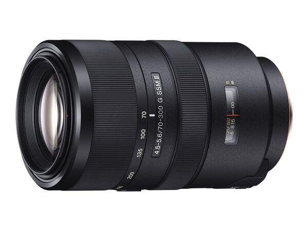 Sony SAL70300G2 - telephoto zoom lens - 70 mm - 300 mmSony SAL70300G2 - telephoto zoom lens - 70 mm - 300 mm, , hi-res