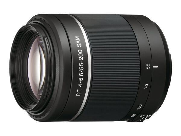 Sony SAL552002 - telephoto zoom lens - 55 mm - 200 mmSony SAL552002 - telephoto zoom lens - 55 mm - 200 mm, , hi-res