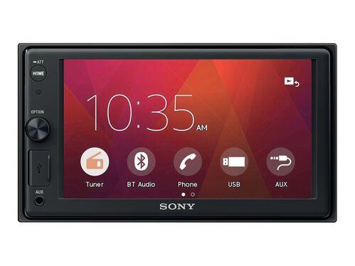 Sony XAV-V10BT - digital receiver - display 6.2 in - in-dash unit - Double-DIN, , hi-res