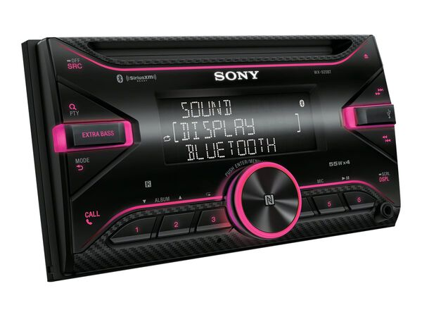 Sony WX-920BT - car - CD receiver - in-dash unit - Double-DINSony WX-920BT - car - CD receiver - in-dash unit - Double-DIN, , hi-res