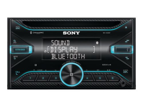 Sony WX-920BT - car - CD receiver - in-dash unit - Double-DIN, , hi-res