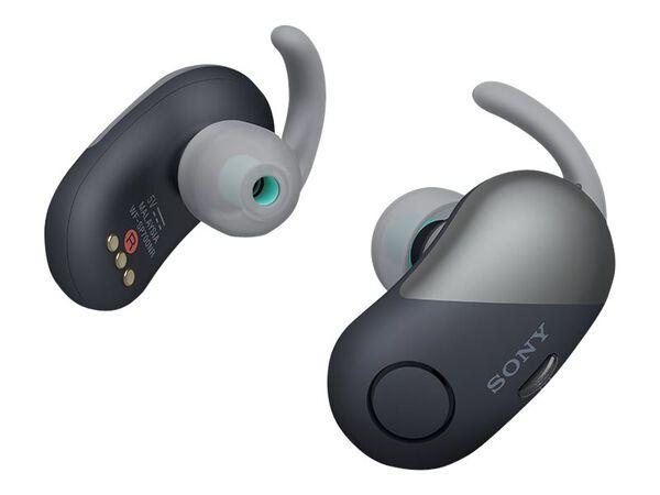Sony WF-SP700N - earphones with micSony WF-SP700N - earphones with mic, Black, hi-res