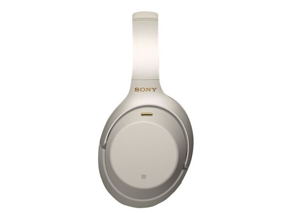 Sony WH-1000XM3 - headphones with micSony WH-1000XM3 - headphones with mic, Silver, hi-res