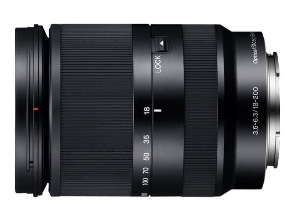 Sony SEL18200LE - zoom lens - 18 mm - 200 mmSony SEL18200LE - zoom lens - 18 mm - 200 mm, , hi-res