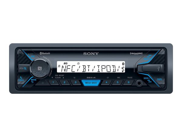 Sony DXS-M5511BT - marine - digital receiver - in-dash unit - Single-DINSony DXS-M5511BT - marine - digital receiver - in-dash unit - Single-DIN, , hi-res
