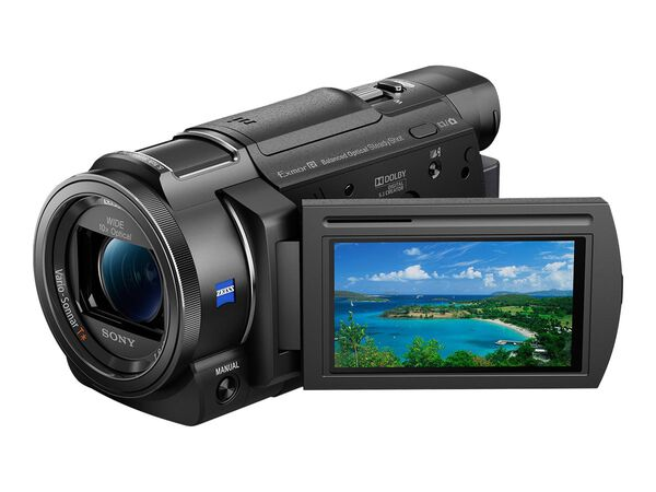 Sony Handycam FDR-AX33 - camcorder - Carl Zeiss - storage