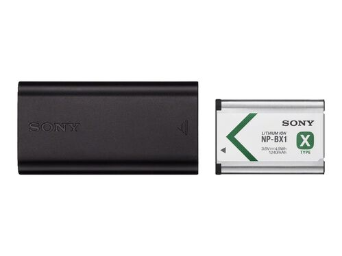 Sony ACC-TRDCX - battery charger - + AC power adapter - with battery - Li-Ion, , hi-res