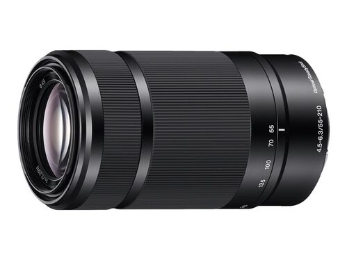 Sony SEL55210 - telephoto zoom lens - 55 mm - 210 mm, , hi-res