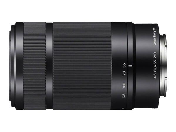 Sony SEL55210 - telephoto zoom lens - 55 mm - 210 mmSony SEL55210 - telephoto zoom lens - 55 mm - 210 mm, , hi-res