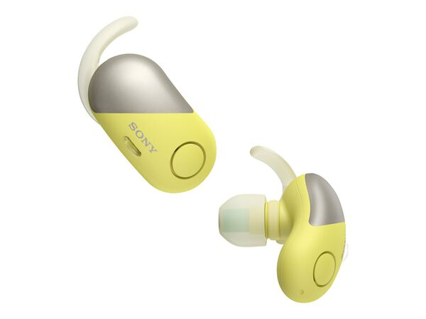 Sony WF-SP700N - earphones with micSony WF-SP700N - earphones with mic, Yellow, hi-res