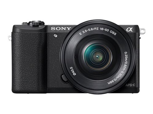 Sony α5100 ILCE-5100L - digital camera 16-50mm lens, Black, hi-res