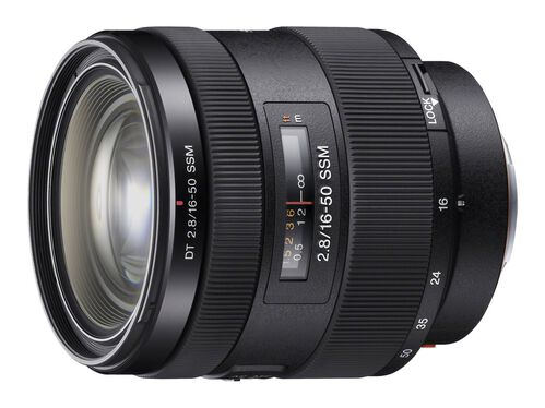 Sony SAL1650 - zoom lens - 16 mm - 50 mm, , hi-res