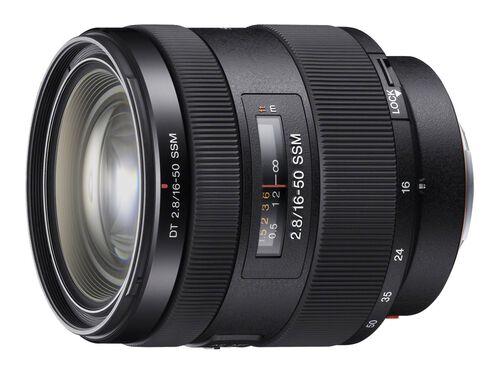Sony SAL1650 - zoom lens - 16 mm - 50 mm, , hi-res