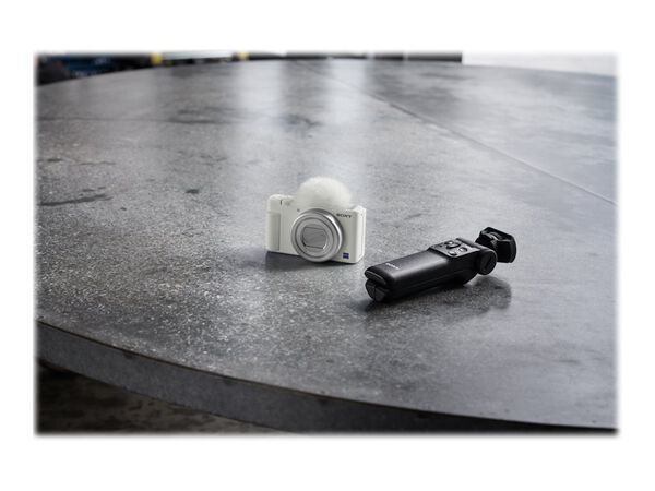 Sony ZV-1 - digital camera - ZEISSSony ZV-1 - digital camera - ZEISS, White, hi-res