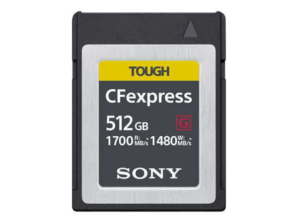 Sony CEB-G Series CEBG512/J - flash memory card - 512 GB - CFexpressSony CEB-G Series CEBG512/J - flash memory card - 512 GB - CFexpress, , hi-res