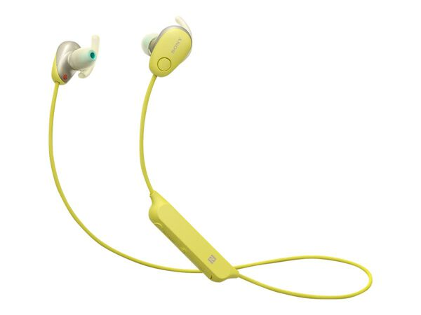 Sony WI-SP600N - earphones with micSony WI-SP600N - earphones with mic, Yellow, hi-res
