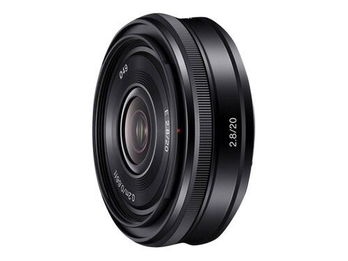 Sony SEL20F28 - wide-angle lens - 20 mm, , hi-res