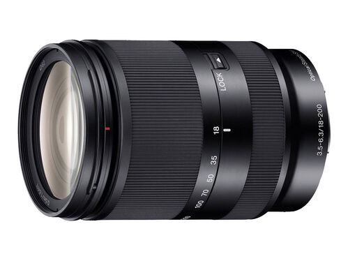 Sony SEL18200LE - zoom lens - 18 mm - 200 mm, , hi-res