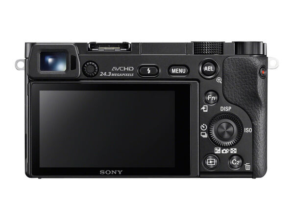 Sony α6000 ILCE-6000L - digital camera 16-50mm lensSony α6000 ILCE-6000L - digital camera 16-50mm lens, Black, hi-res