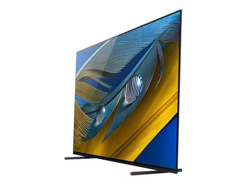 "Sony XR-55A80J BRAVIA XR A80J Series - 55"" Class (54.6"" viewable) OLED TV - 4K, , hi-res"