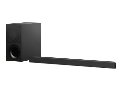 Sony HT-X9000F - sound bar system - for home theater - wireless, , hi-res