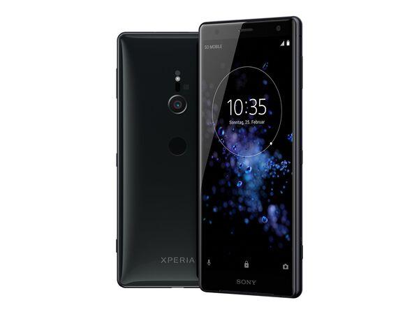 Sony XPERIA XZ2 - liquid black - 4G LTE - 64 GB - GSM - smartphoneSony XPERIA XZ2 - liquid black - 4G LTE - 64 GB - GSM - smartphone, , hi-res
