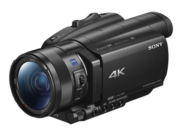 Sony Handycam FDR-AX700 - camcorder - Carl Zeiss - storage: flash cardSony Handycam FDR-AX700 - camcorder - Carl Zeiss - storage: flash card, , hi-res