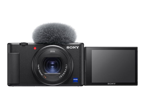 Sony ZV-1 - digital camera - ZEISSSony ZV-1 - digital camera - ZEISS, Black, hi-res