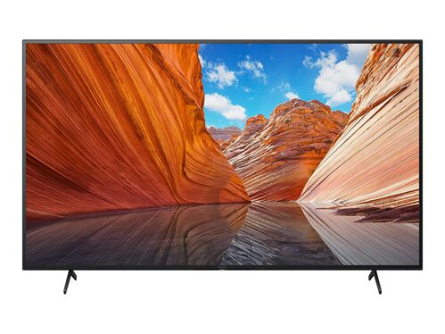 "Sony KD-55X80J BRAVIA X80J Series - 55"" Class (54.6"" viewable) LED-backlit LCD TV - 4K, , hi-res"