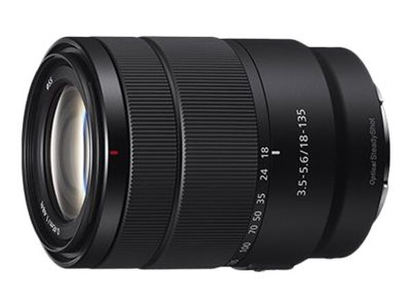 Sony SEL18135 - zoom lens - 18 mm - 135 mmSony SEL18135 - zoom lens - 18 mm - 135 mm, , hi-res