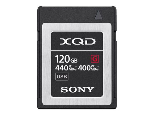 Sony G-Series QD-G120F - flash memory card - 120 GB - XQD, , hi-res