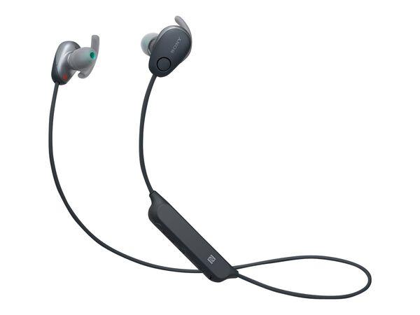 Sony WI-SP600N - earphones with micSony WI-SP600N - earphones with mic, Black, hi-res