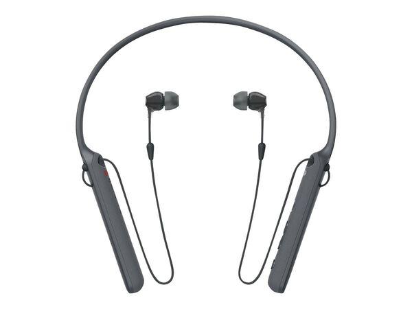 Sony WI-C400 - earphones with micSony WI-C400 - earphones with mic, Black, hi-res