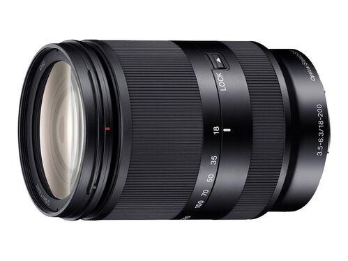 Sony SEL18200LE - zoom lens - 18 mm - 200 mm, , hi-res