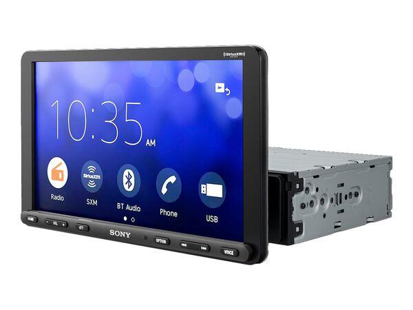 """Sony XAV-AX8000 - digital receiver - display 8.95"""" - in-dash unit - Single-DINSony XAV-AX8000 - digital receiver - display 8.95"""" - in-dash unit - Single-DIN, , hi-res"""