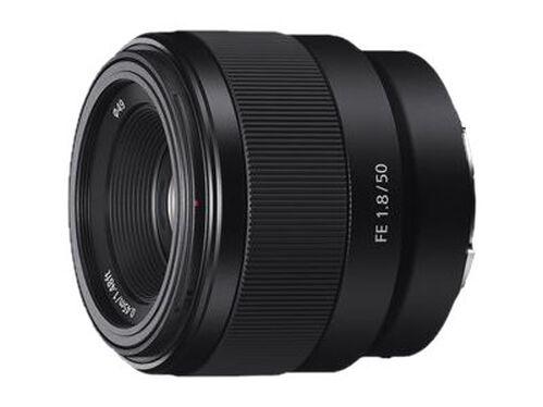 Sony SEL50F18F - lens - 50 mm - 50 mm, , hi-res