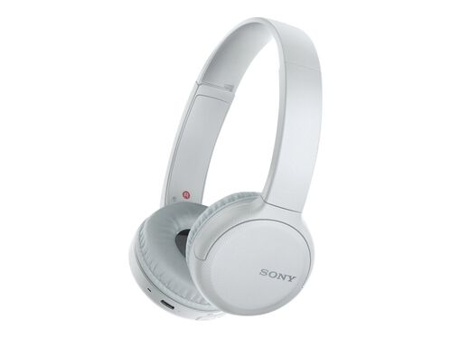 Sony WH-CH510 - headphones with mic, White, hi-res