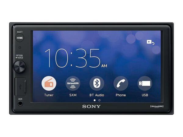"""Sony XAV-AX1000 - digital receiver - display 6.2"""" - in-dash unit - Double-DINSony XAV-AX1000 - digital receiver - display 6.2"""" - in-dash unit - Double-DIN, , hi-res"""